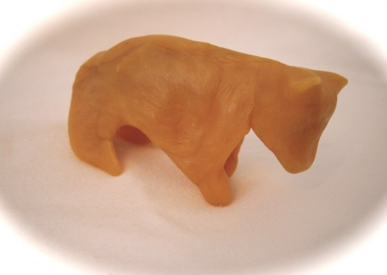 Waldorf ~ 2nd grade ~ Aesop ~ Bear ~ beeswax model