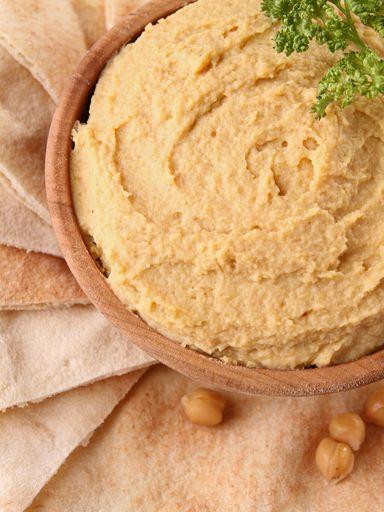 Purée de pois chiches / hoummos (Liban) - Recette de cuisine Marmiton : une recette