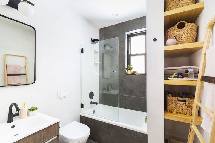 These Renovators Moved Their Bathroom Plumbing Bathroom Renovation Bathroom Renovation Trends Bathrooms Remodel