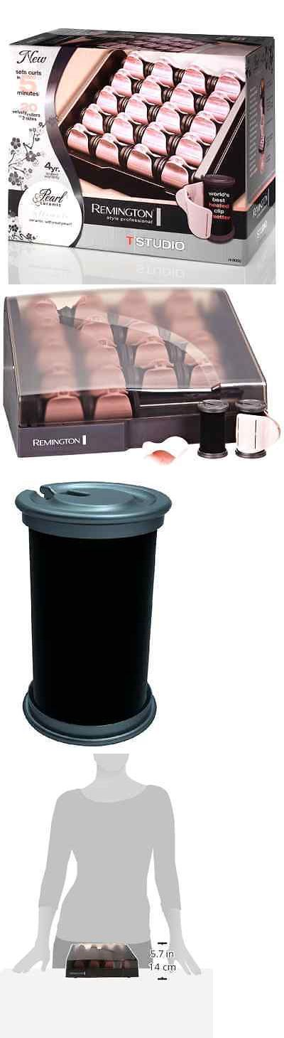 Rollers and Curlers: Remington Heated Clip Hair Rollers Hot Electric Curlers Pearl Ceramic H9000 New BUY IT NOW ONLY: $55.5