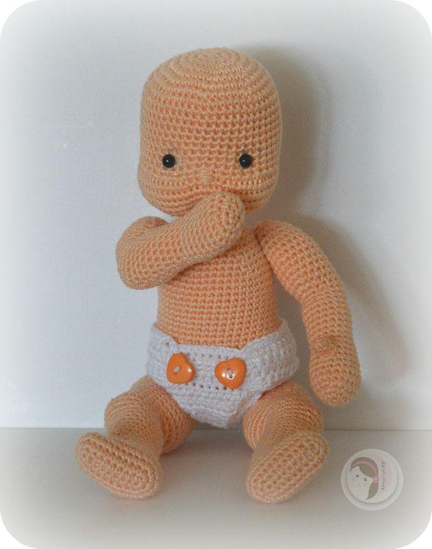 Amigurumi Baby Free Pattern : Best d amigurumis villablanca images on