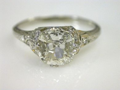 Images Vintage Engagement Rings