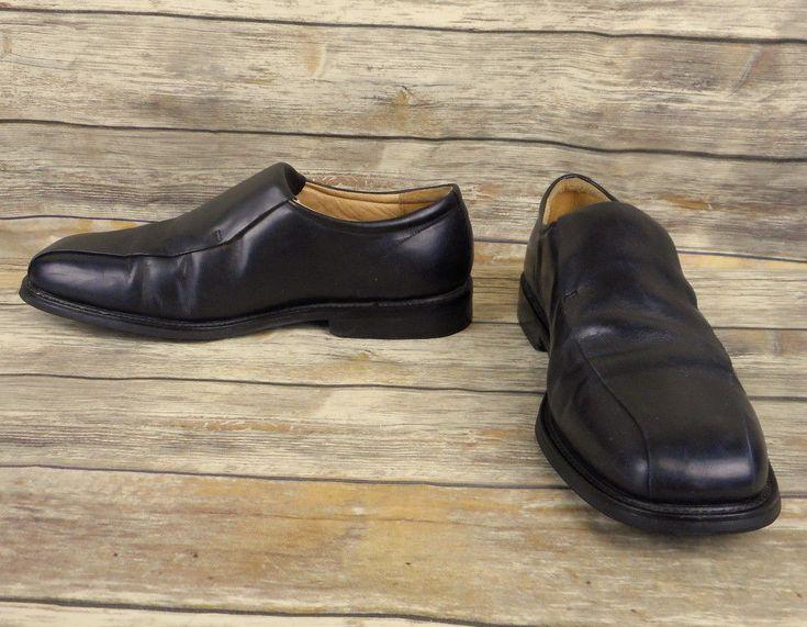 Florsheim Loafers Black Leather Mens Size 14 M Dress Shoes Business Casual #Florsheim #LoafersSlipOns