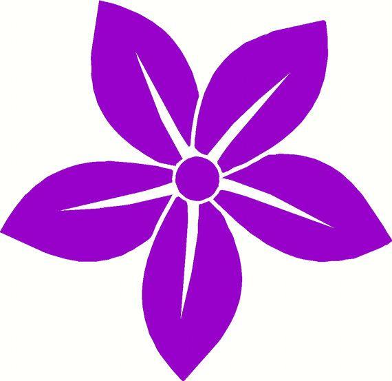 Flower CarWall Design Quote Art Home Decor Sticker