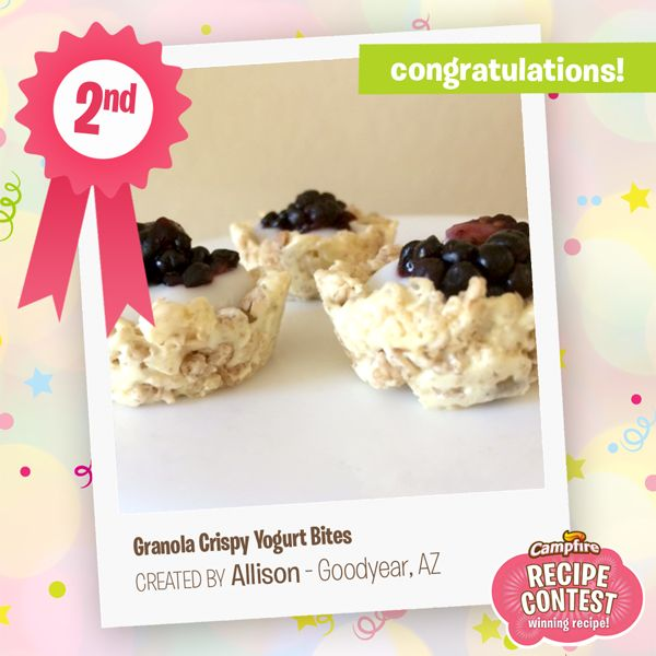 28 best recipe contests images on pinterest recipe contests our second place winner in campfires mallow bursts recipe contest is allison in goodyear az forumfinder Gallery