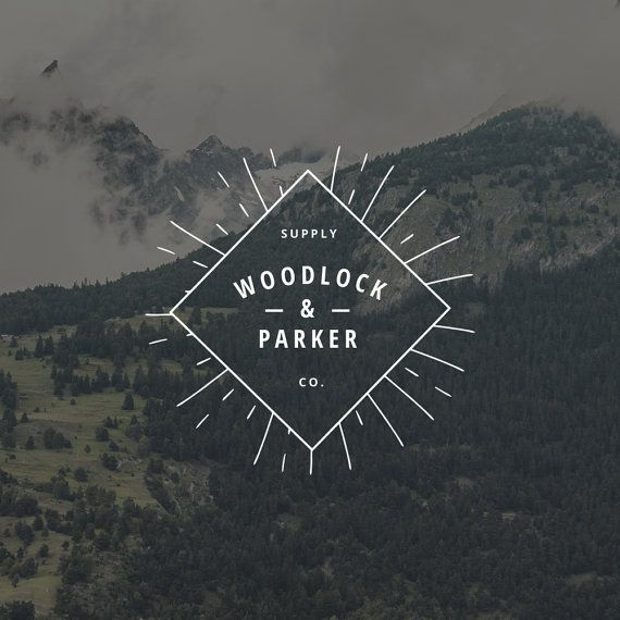 Manly Logo Design. Outdoors Logo. Hipster Logo. by RogueLogo