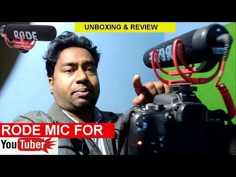 RODE Mic for YouTube Video Creators , interviews & News Media ! DSLR Connectivity My Smart SupportRode mic review,Rode microphone review and unboxing,rode video mic go
