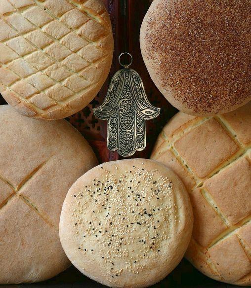 Pan tradicional marroquí | #Receta de cocina | #Vegana - Vegetariana ecoagricultor.com