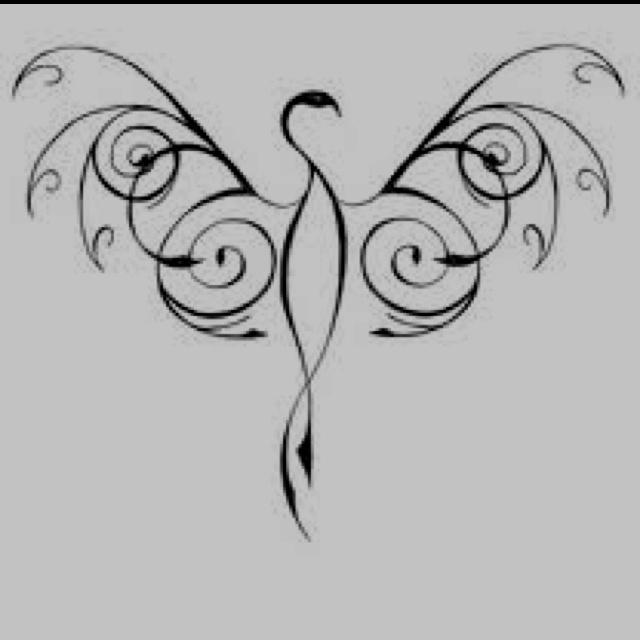 Phoenix Tattoo...this one is perfect methinks
