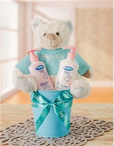 New Baby Gifts: Baby Boy Bucket!