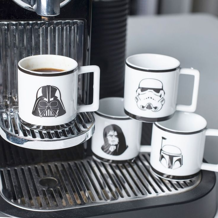 Set tazzine da caffè Star Wars