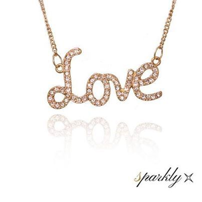 Show the woman you love that your feelings for her are still full of radiance and romance!   It is playful and charming – so what better way to show what's in your heart and captivate hers at the same time? And at $13.99 it is a real bargain - we think she'll love it, and you! http://www.sparkly.com.au/new-arrivals/cubic-zerconia-love-necklace.html