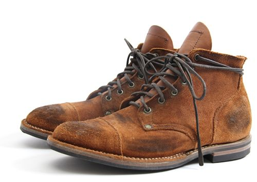 Nigel Cabourn x Viberg Service Boots for Spring/Summer 2012: Service Boots, Men'S Shoes, Men'S Fashion, Men'S Footwear, Nigel Cabourn, Man Shoes, Viberg 2012, New Shoes, 2012 Service