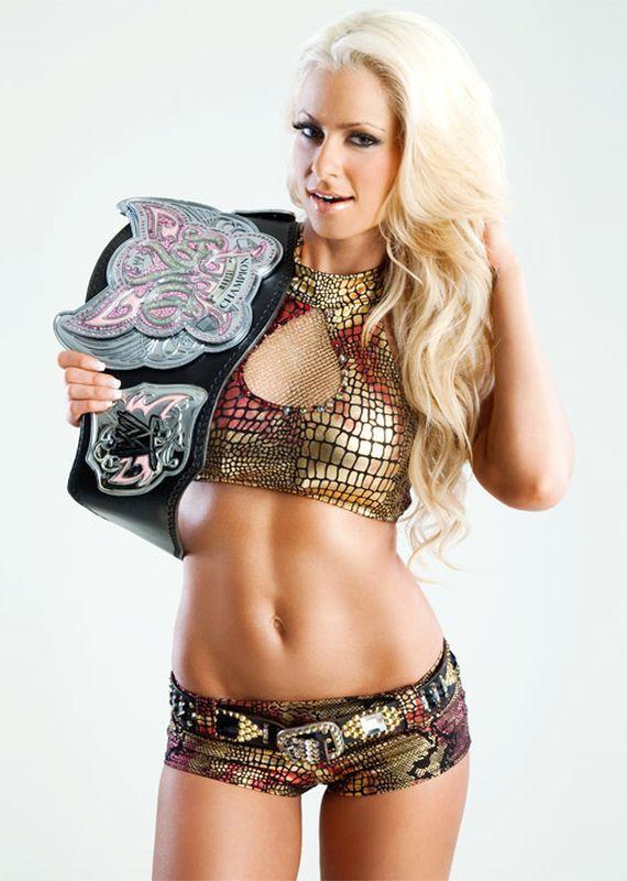 Former WWE Diva Maryse #wwe