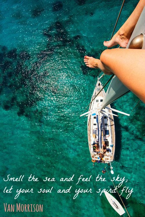 Smell the see and feel the sky, let your soul and your spirit fly #summer2015   #sol   #navegar   #disfrutar   #relax   #catamaran   #velero