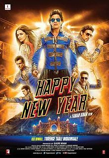 Happy New Year - pretty decent entertainer..was fun to watch.. :D