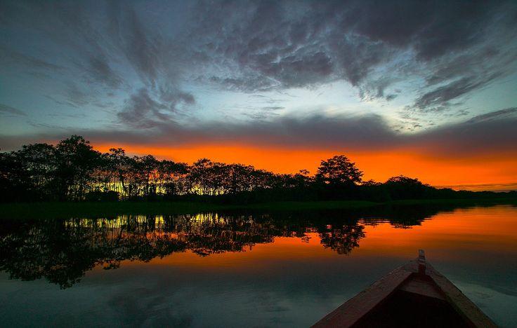 Leticia Amazonas Sunset