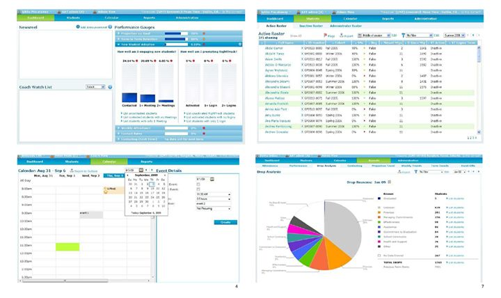 ASP.NET, E-learning, Web Application for an University - Student Records, Reporting, Scheduling, Calendar and much more