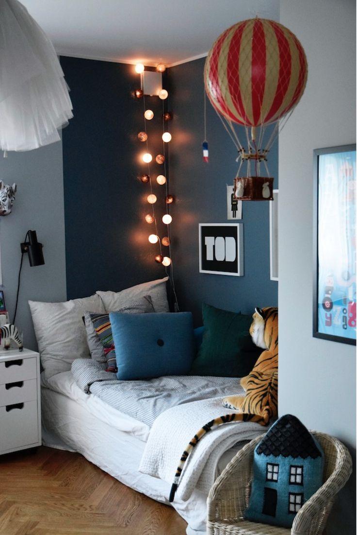 Blogg Stilstudion Boys Bedroom ColorsLittle Boy