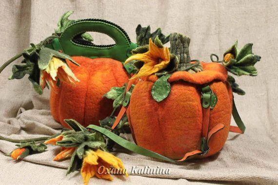 Author Pumpkin Bag of felt for Cinderella. Fairy by Aeromake