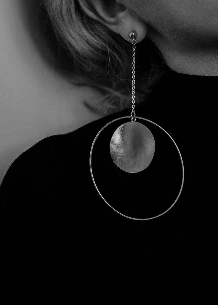 big earrings | Maria Van Nguyen #littleadditions