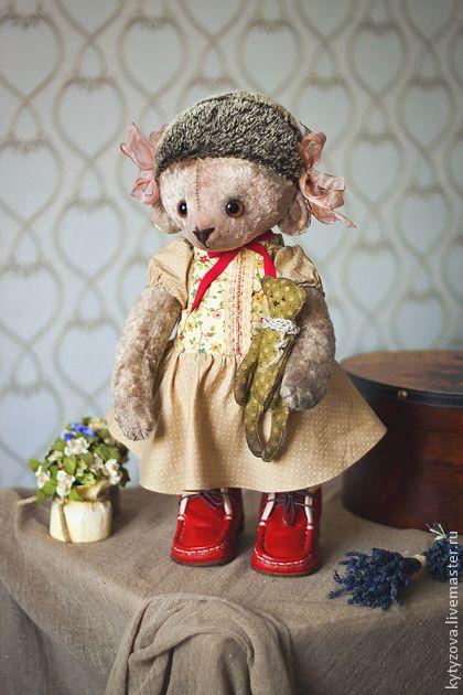 Мишки Тедди ручной работы. Ярмарка Мастеров - ручная работа Зося-ежиха. Handmade.