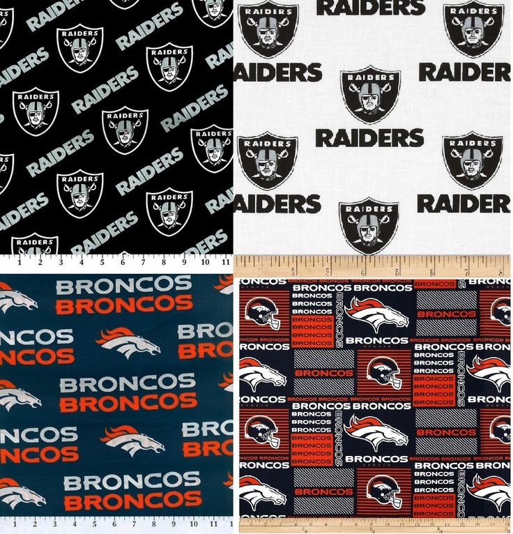 NFL- AFC West - Broncos, Chiefs, Raiders, Chargers - Moisture Proof Ditty Bag, Toiletry Bag, Pencil Case, Cosmetics Bag - Choose Size & Team by BaysideBarb on Etsy