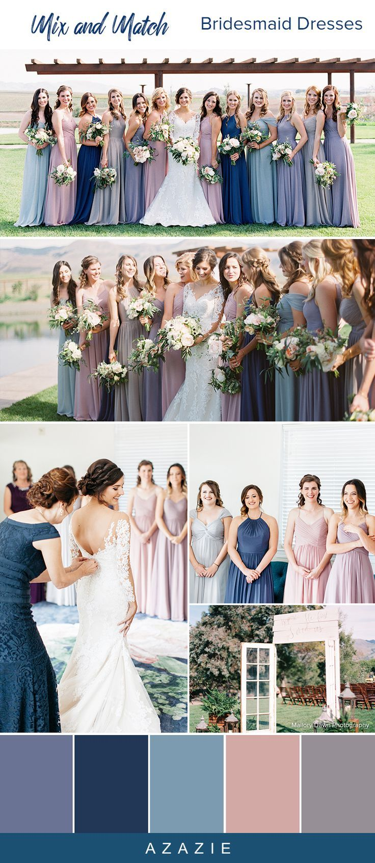 Pin By Witty And Whimsical On Bridesmaid S Dresses Bridesmaid Dress Color Schemes Bridesmaid Dress Colors Bridesmaid Colors [ 1693 x 736 Pixel ]