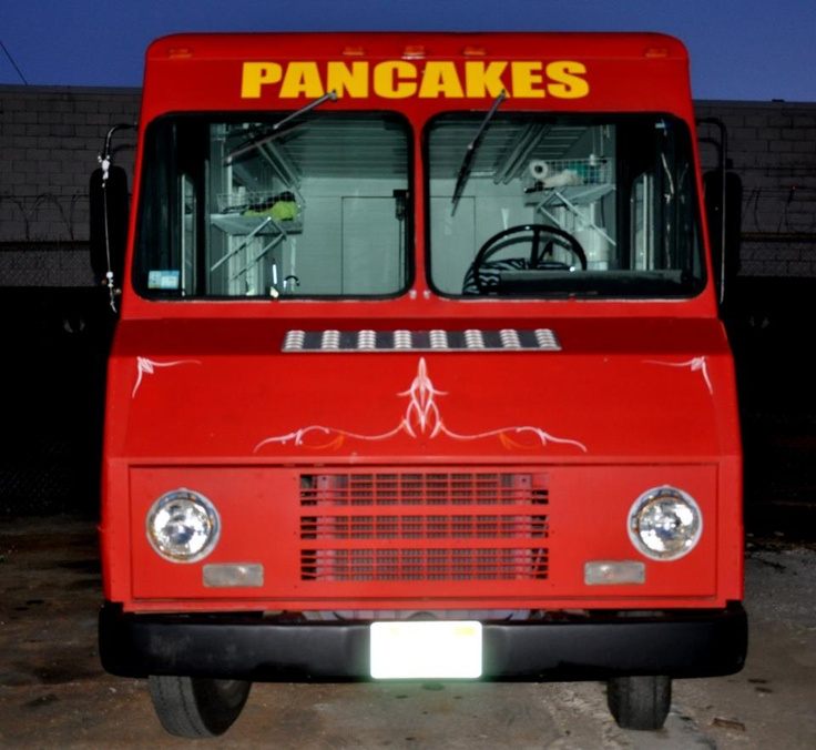 My pancake truck.  Her name is Sweetheart!