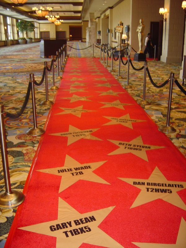 oscar after party theme | Star-studded red carpet to Oscar themed event