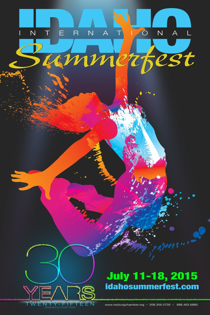 Are you ready for this year's Summerfest? Tickets are on sale now! Tickets can be purchased by calling the Chamber at (208) 356-5700 or by email at info@rexburgchamber.com. To get a running start on Summerfest, participate in the Color in Motion 5k! Run on over to http://colorinmotion5k.com/Rexburg to get your tickets now!