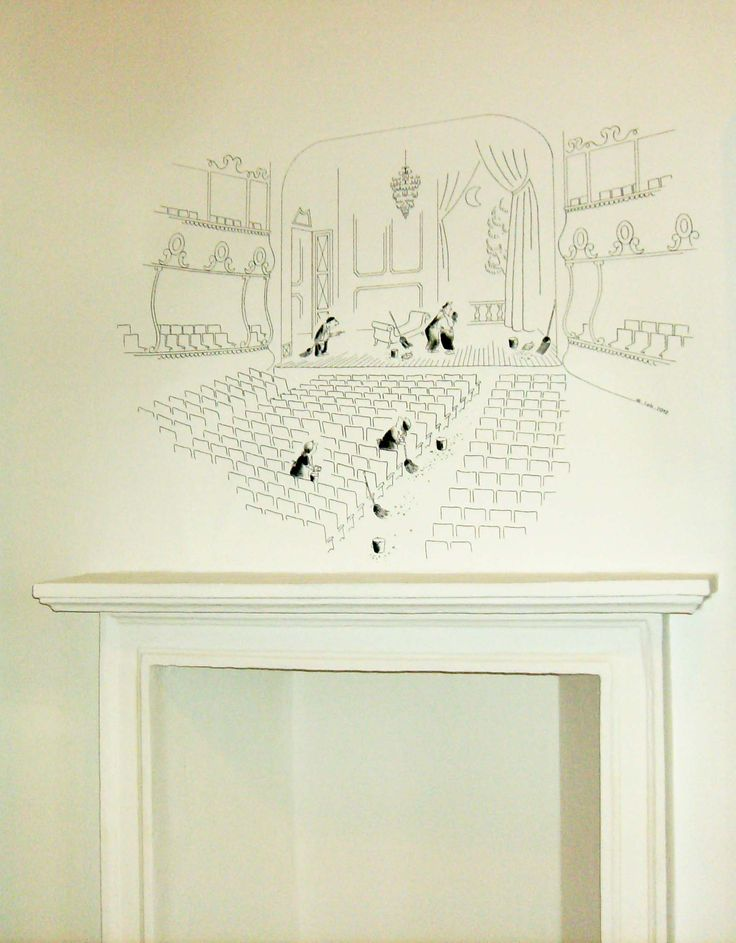 "[ Murale ""Sempé"", 2012, by Bettole d'Incanto ] #Wall #Mural #Comics #Sempe #BettoleDIncanto #Handmade"