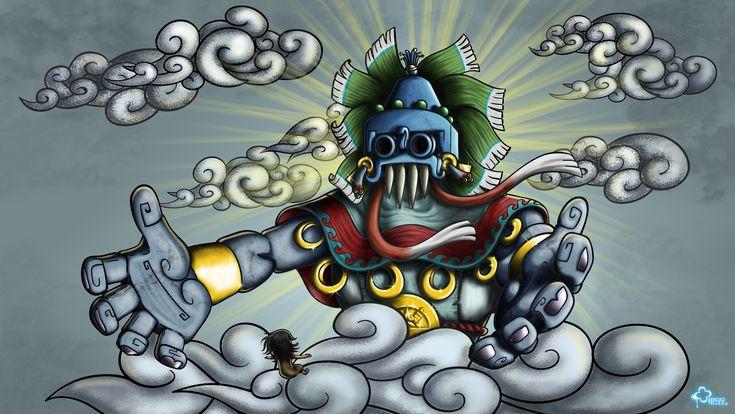 El paraíso de los que mueren por culpa del agua -  Enla mitología náhuatl era el paraíso del dios de la lluvia, el granTlaloc. Era el Tlaocan y a este sitio fértil y colmado de verdor arribaban los seres que habían fallecido en algún acontecimiento de cualquier naturaleza, pero relacionado con el agua, por ejemplo los ahogados, o aquellos quienes murieron a consecuencia del contacto fulminante de un rayo.    Era un lugar de sortilegio sobrenatural que se hallaba rumbo al Oriente, región…