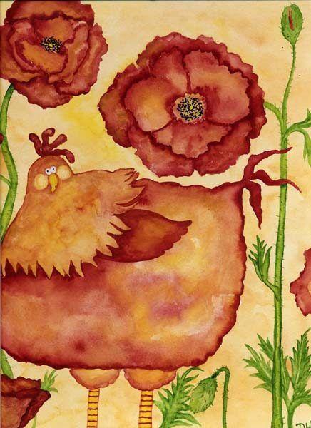 debi hubbs-美國女藝術家, 設計師, 和插畫家以異想天開的風格而聞名,畫中顯示出她的幽默感,和藝術有趣的另一面(第一輯) 。。。 - ☆平平.淡淡.也是真☆  - ☆☆milk 平平。淡淡。也是真 ☆☆
