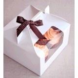 4 Cupcake Window Box with Handle