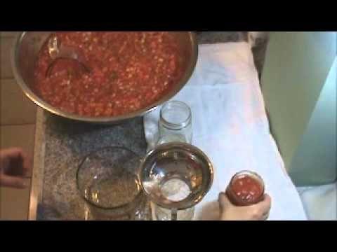 My Best Canned Salsa Recipe Video #31