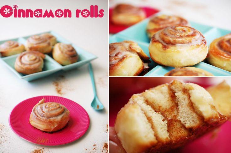 Cinnamon rolls sau un fel de melcisori sau cuib de viespe cu scortisoara, niste delicatese ...
