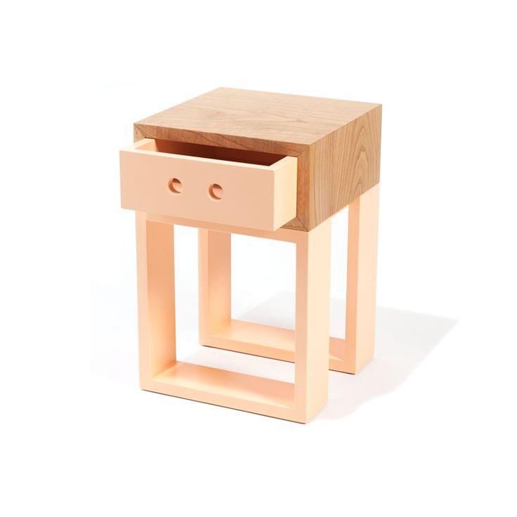 Banco Gaveteiro Box Igual #farpa #wood #retro #pastelcolors #boxigual #farpapt