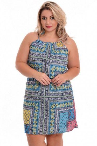 Vestido Plus Size Karla