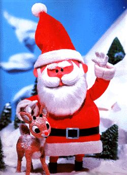 Rudolph the Red nose Reindeer - first aired on NBC Dec 6 1964.