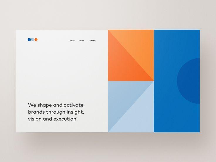 Duo 2 By Ben Schade Graphics Grafisk Design Grafisk Design