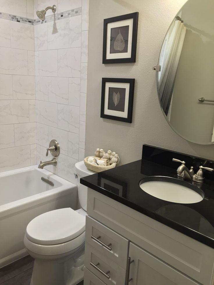 Best 25 granite bathroom ideas on pinterest white granite kitchen white countertop kitchen for Granite bathroom
