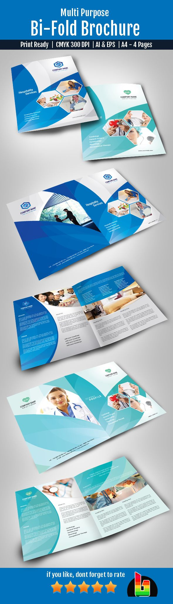 bi fold brochure template illustrator - bi fold brochure on behance brand pinterest behance