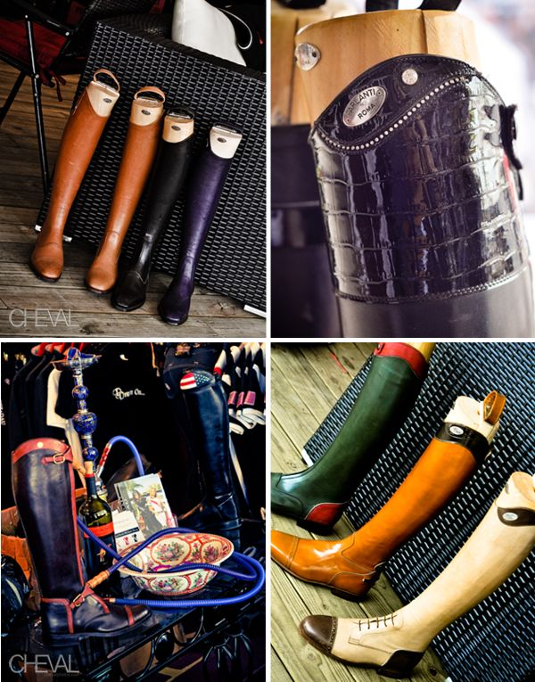 Equestrian boot envy in Wellington Florida...any of these would great with jeans for the city