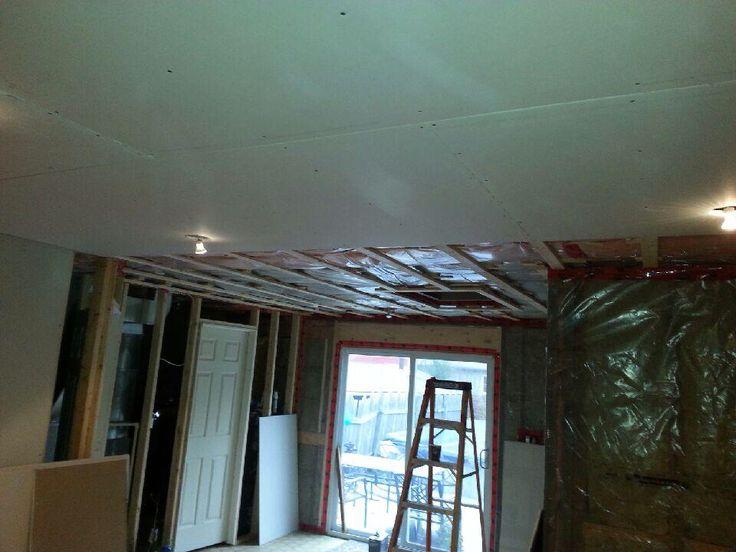 Ceiling Livingroom renovation