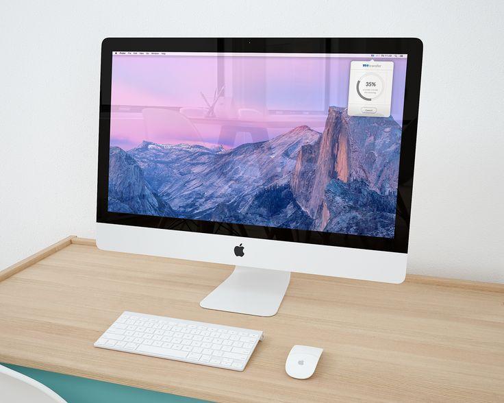 WeTransfer Mac App Concept on Behance