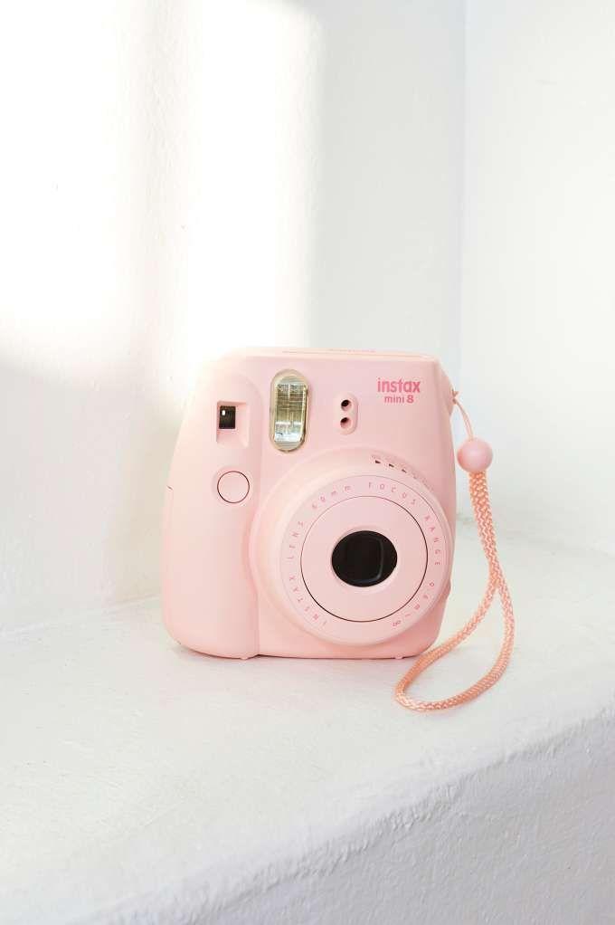 Fujifilm Instax Mini 8 Instant Camera in candy pink