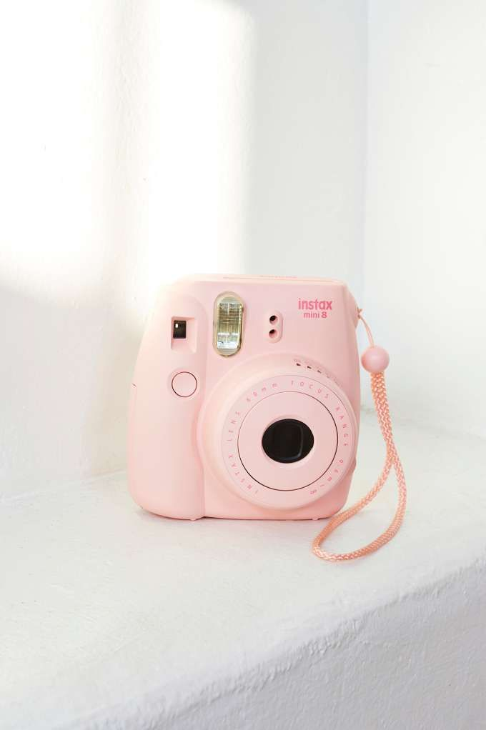 Fujifilm Instax Mini 8 Instant Camera in candy pink