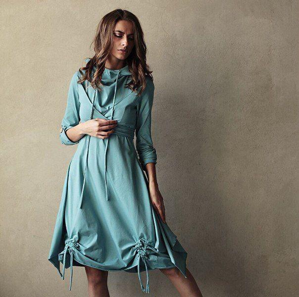 Платье Radivaska  хлопок 95% лайкра 5%  ЦЕНА 8990/Rur  grog-shop.com  #indagrog