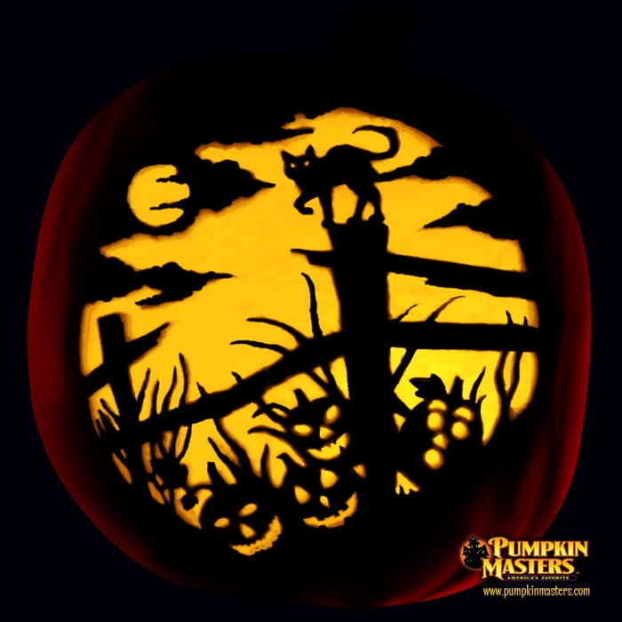 Haunted Fence Row pumpkin
